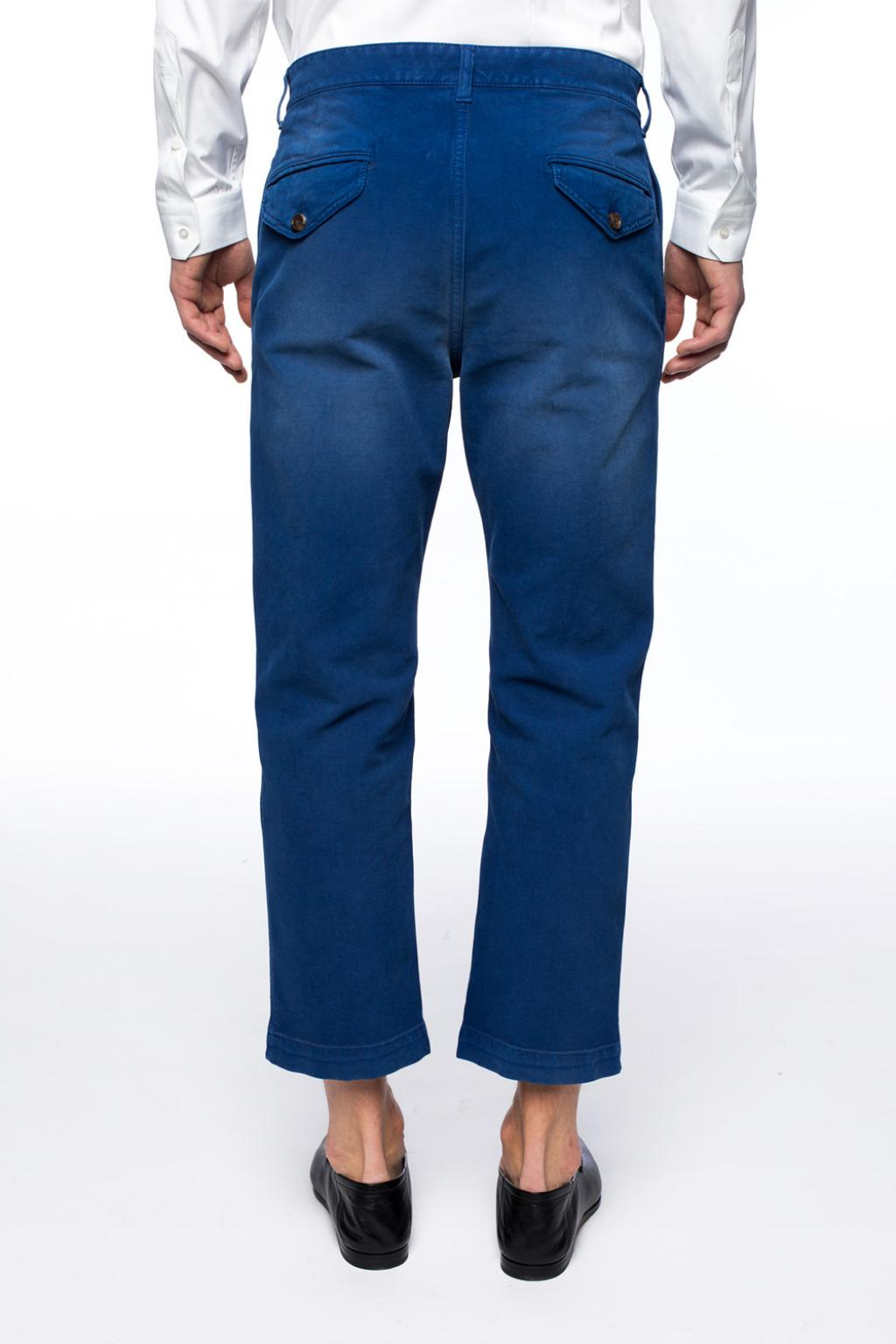 Gucci Embroidered trousers