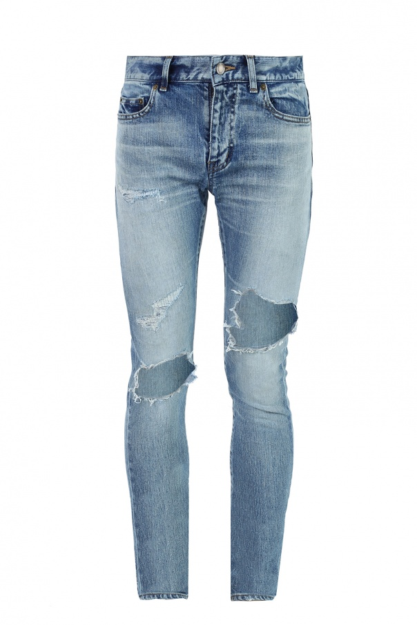 ff4932fb Distressed skinny jeans Saint Laurent - Vitkac shop online