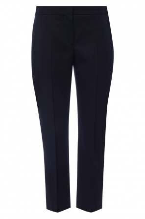 Cropped trousers od Alexander McQueen