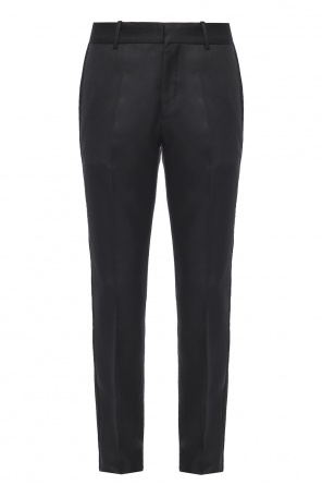 Embellished side-stripe trousers od Alexander McQueen