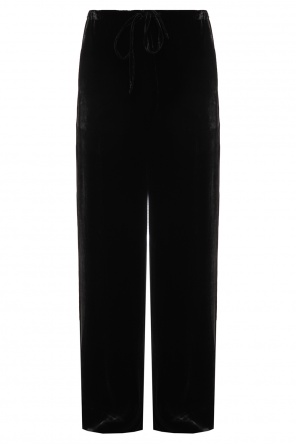 Loose fit flared trousers od McQ Alexander McQueen