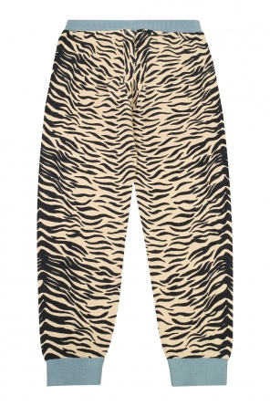 Tiger-printed trousers od Stella McCartney Kids