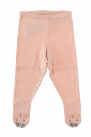 Appliqued tights od Stella McCartney Kids
