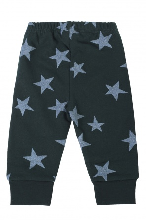 Star-printed sweatpants od Stella McCartney Kids