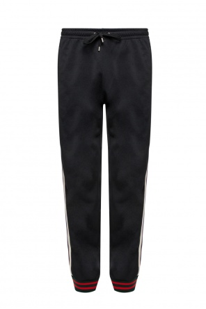 Side-stripe trousers od Gucci