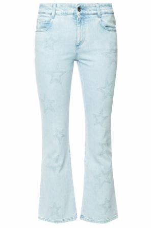 Embroidered flared jeans od Stella McCartney