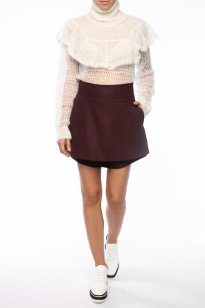 High-waisted shorts od Stella McCartney