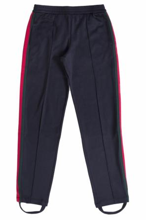 Side-stripe sweatpants od Gucci Kids