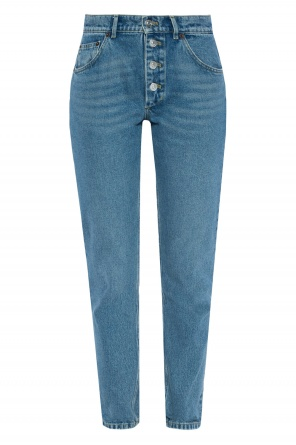 High-waisted jeans od Balenciaga