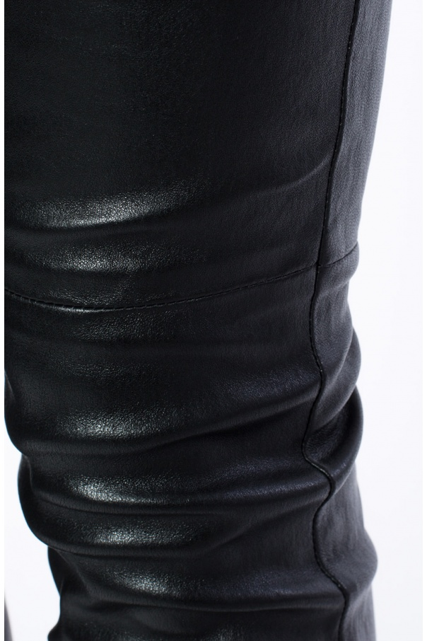 Leather trousers od Saint Laurent