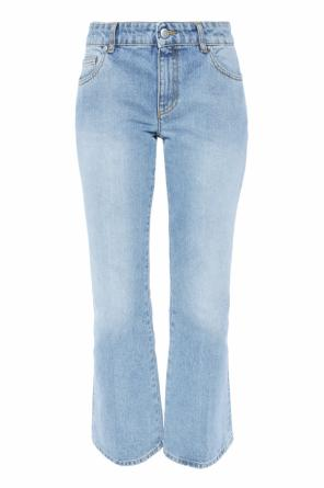 Flared jeans od Alexander McQueen