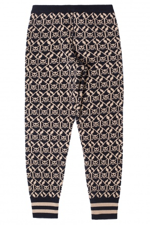 Patterned trousers od Gucci Kids