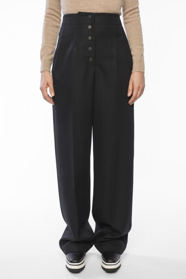 High-waisted trousers od Stella McCartney