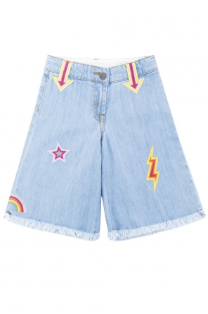 Embroidered flared jeans od Stella McCartney Kids