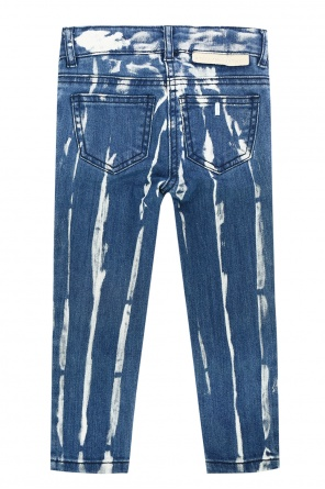 Two-coloured jeans od Stella McCartney Kids