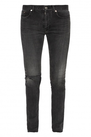 Jeans with frayed cuffs od Balenciaga