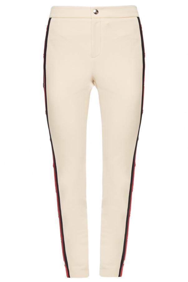 b6fba357b300d Spodnie z paskiem  Web  Gucci - sklep internetowy Vitkac