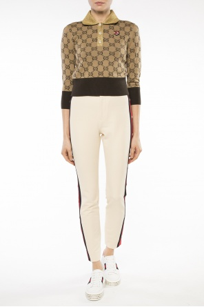 'web' trousers od Gucci