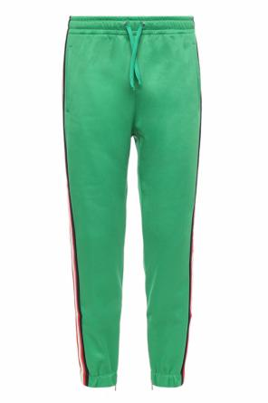 Side-stripe sweatpants od Gucci