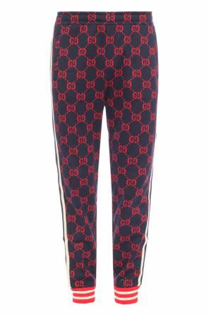 Side-stripe patterned trousers od Gucci