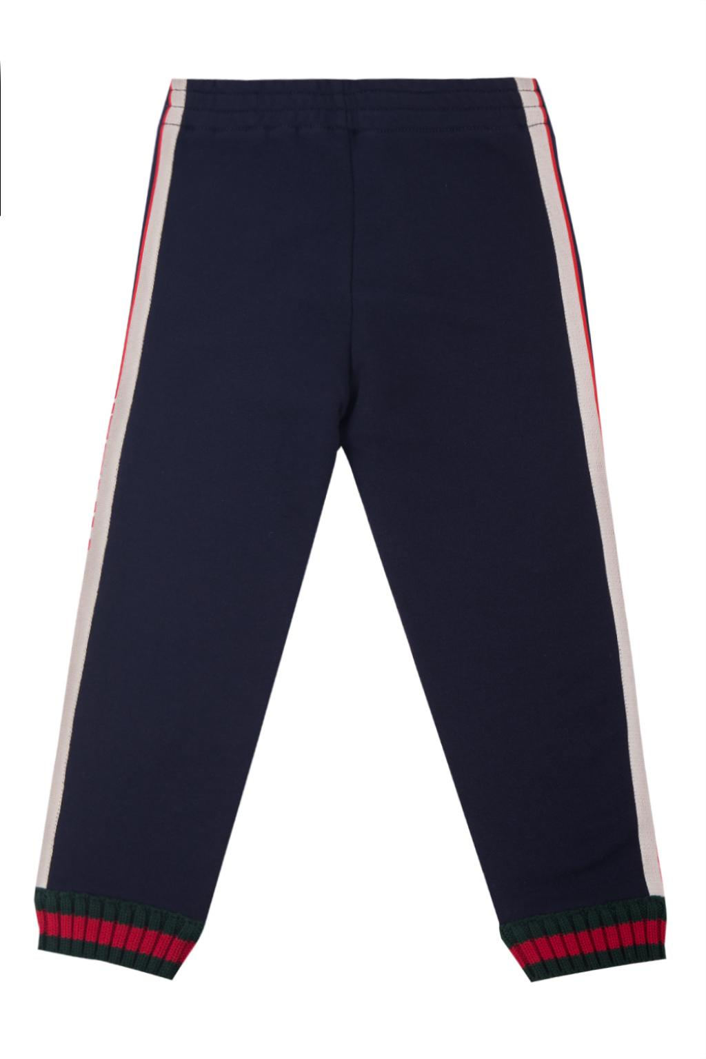 Gucci Kids Side-stripe sweatpants