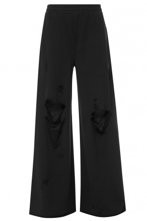 Flared sweatpants od T by Alexander Wang