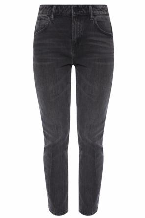 'cult side zip' high-waisted jeans od T by Alexander Wang