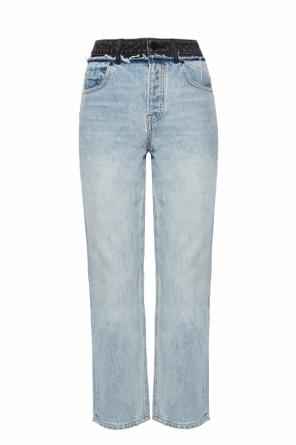 Cult duo' jeans with a raw finish od Alexander Wang