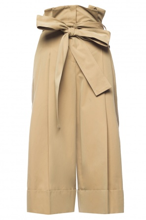 Cropped flared trousers od Alexander McQueen