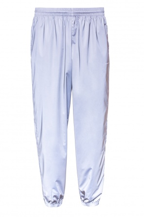 Metallic sheen track pants od Balenciaga