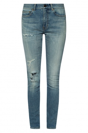 Jeans with holes od Saint Laurent