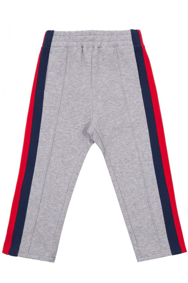 Gucci Kids Sweatpants with tucks
