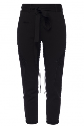 Laced trousers od Saint Laurent
