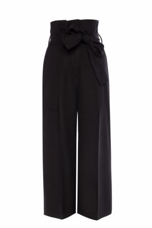 Belted high-waisted trousers od Stella McCartney
