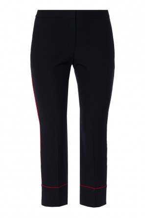 Pleat-front trousers od Alexander McQueen