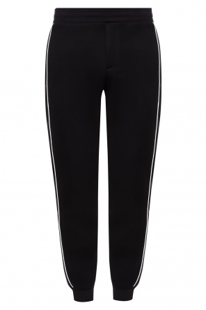 Sweatpants with skull motif od Alexander McQueen