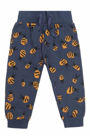 Sweatpants with a printed pattern od Stella McCartney Kids