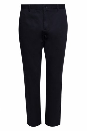 Logo-stitched trousers od Gucci