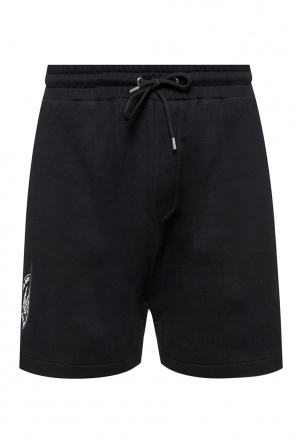 Branded sweat shorts od McQ Alexander McQueen