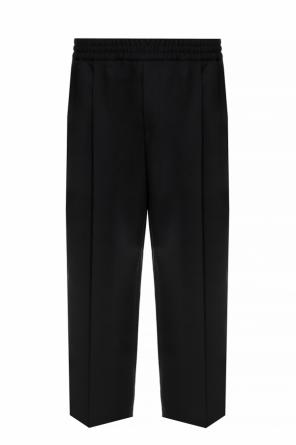 Wool trousers with a crease od McQ Alexander McQueen