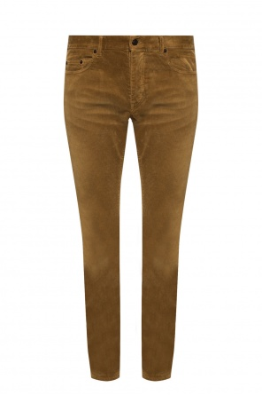 Corduroy trousers od Saint Laurent