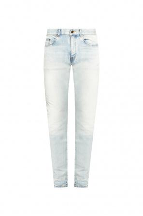 Distressed jeans od Saint Laurent