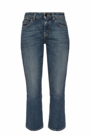 Jeans with expanded legs od Saint Laurent