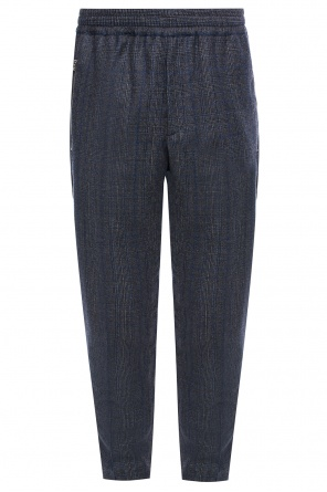 Checkered trousers od Stella McCartney