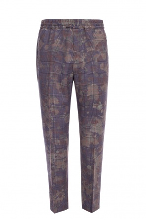 Checked tailored trousers od Stella McCartney