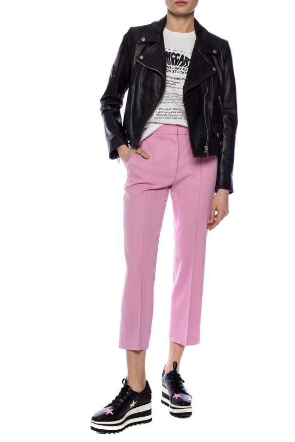 Creased trousers od Stella McCartney