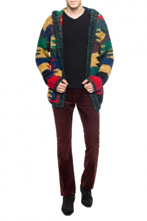 Corduroy flared pants od Saint Laurent