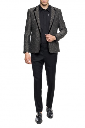 Pleat-front wool trousers od Saint Laurent