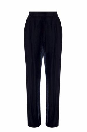 Velvet pants with pockets od Stella McCartney