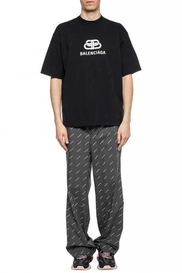Patterned trousers od Balenciaga